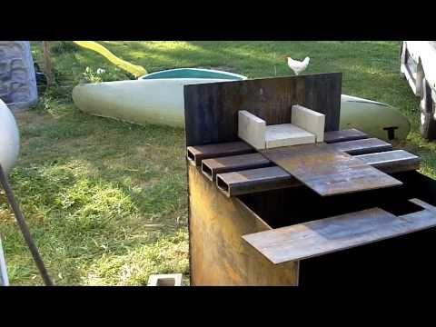 Diy Wood Gasifier ▶ 1 Diy Outdoor Wood Burner