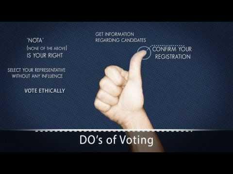 5 reasons to vote (Gujarat)
