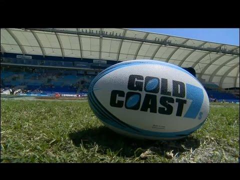 Fiji vs Wales Quarter Finals Gold Coast 7's 2014/15 Season October 11th & 12th 2014