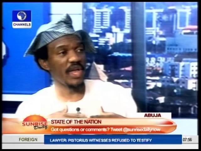 Discussing State Of The Nation With Tunji Ariyomo