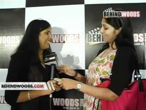 Behindwoods Mankatha Red Carpet Show Nandha Sandhya Saranya...