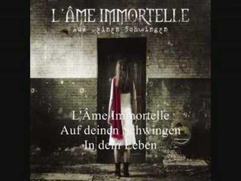 Lame Immortelle - In Dein Leben