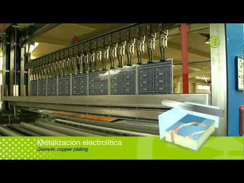 Fabricación de un circuito impreso de alta_densidad HDI