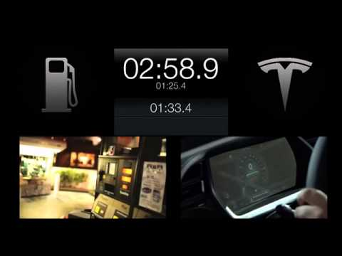 Tesla Motors demonstrates 90-second Model S battery-swapping tech