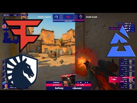 COLDZERA WTF?! - FaZe vs Liquid - BLAST Premier Spring Series 2020