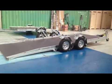 Aluminum Trailer Frame Design