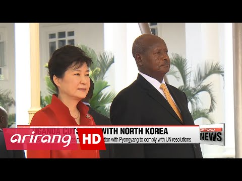 Uganda halts military cooperation with N. Korea to comply with UN resolutions