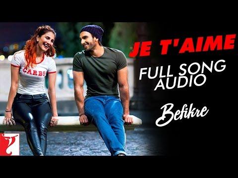 Je T'aime - Full Song Audio | Befikre | Vishal Dadlani | Sunidhi Chauhan | Vishal And Shekhar