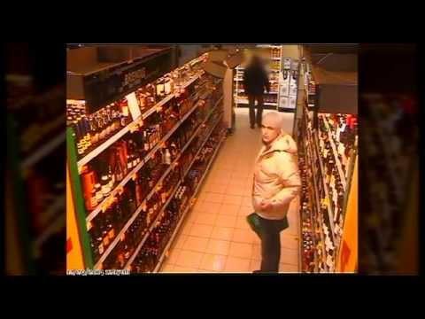 """Alkoholio butelius vogęs įtariamas """"chameleonas"""""""