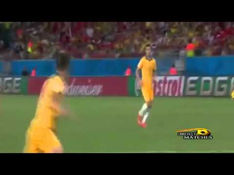Chile vs Australia 3-1 ~ All Goals and Full Highlights ~ World Cup 2014
