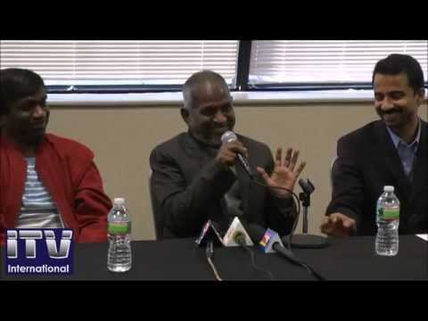 IlaiyaRaaja speaks at the Press Meet for His First-Ever USA Live Concert, Part-1
