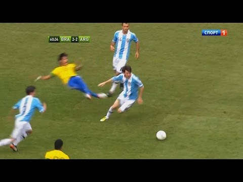 Lionel Messi Memorable Performance vs Brazil ● Brazil 3-4 Argentina (09/06/2012)   HD thumbnail