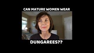 DO YOU WEAR DUNGAREES? EVA TRENDS LOOKBOOK   MATURE FASHION