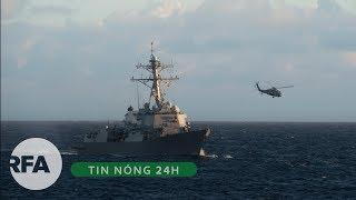 Tin nóng 24H | Thách thức Trung Quốc, 2 tàu chiến Mỹ vào vùng 12 hải lý ở Trường Sa