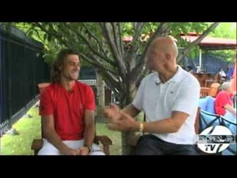2008 US Open - Off-Court Spotlight with David Ferrer Video