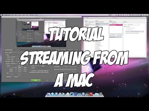 How to Stream to Twitch.tv from a Mac