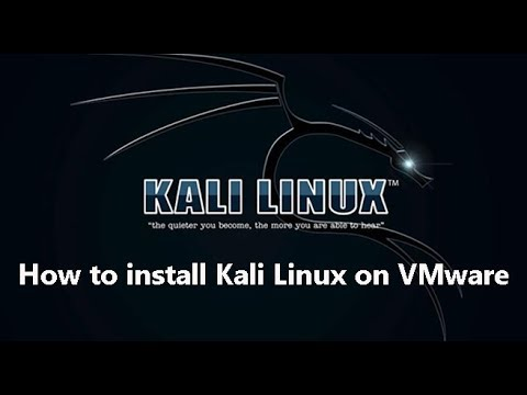 How to install Kali Linux on VMware    Kali Linux install 2018.1 Latest Version