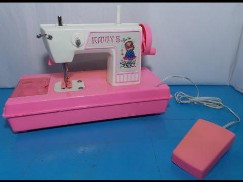 Maquina de coser juguete vintage toy review