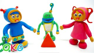 Learning Shapes Team Umizoomi Episodes Play Doh Superhero Stopmotion Videos