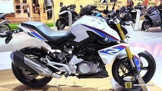 2016 BMW G310R - Walkaround - Debut at 2015 EICMA Milan