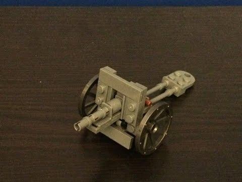 Lego WW2 Soviet Cannon Gun Review!
