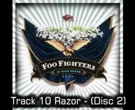 Foo Fighters - Razor