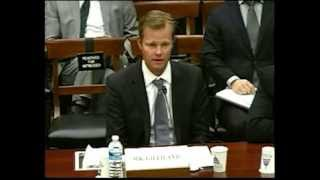 Nathan Gilliland Testifies at a House Committee on Science, Space and Technology hearing