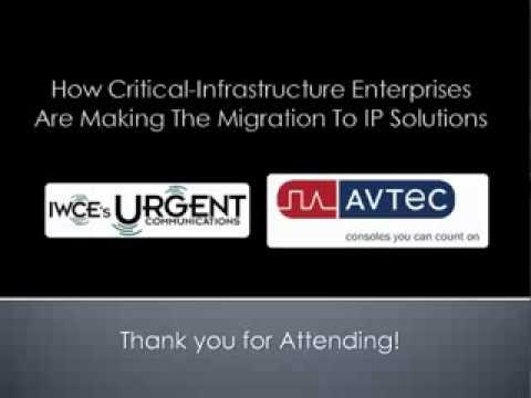 Migrating Critical-Infrastructures to IP Solutions - Webinar