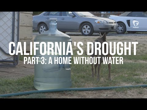 California's Drought: Inside a Home without Water