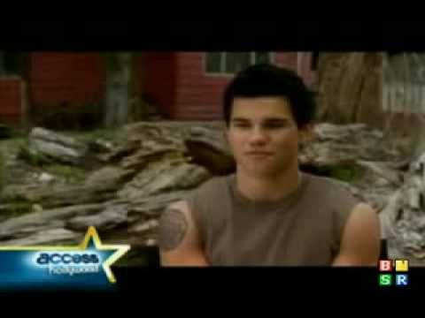 Exclusive Behind the Scenes of Jacob Black New Moon Wolf Transformation Video