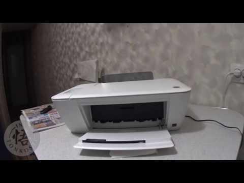 Как достать картриджи из принтера HP DeskJet 1510