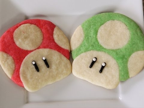 Super Mario Cookies - QUAKE N BAKE