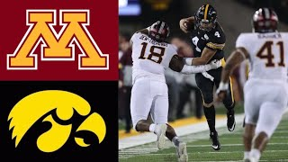 #8 Minnesota vs #20 Iowa Highlights | NCAAF Week 12 | College Football Highlights