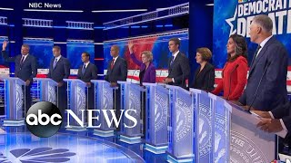 Biggest moments from 1st Democratic debate