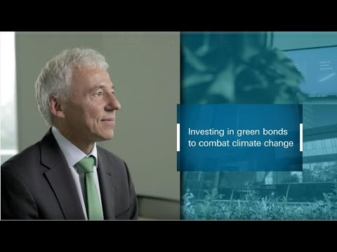 Investing in green bonds to combat climate change