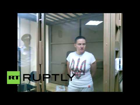 Russia: Bail denied! Ukraine pilot charged in Russian journalists' deaths to remain in jail