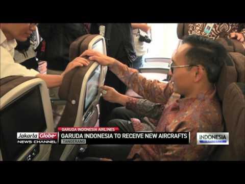 Garuda Indonesia To Receive New Aircraft's