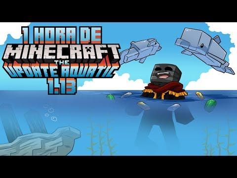 1h de gameplay en Minecraft 1.13