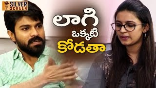 Ram Charan Gets Angry Suddenly on Niharika | Ram Charan Rapid Fire Interview | #Telugumovienews