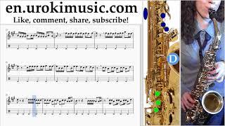 Download Lagu How to Play Saxophone (Alto) Luis Fonsi, Demi Lovato - Échame La Culpa Tabs Part#2 um-ih352 Gratis STAFABAND