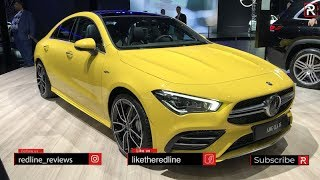 2020 Mercedes-AMG CLA 35 – Redline: First Look – 2019 NYIAS