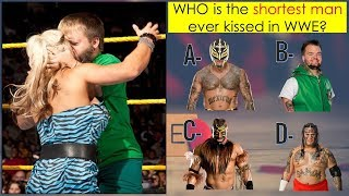 WWE QUIZ - You'll Never Get 100% On This WWE Kissing Challenge - Part 1 [HD]