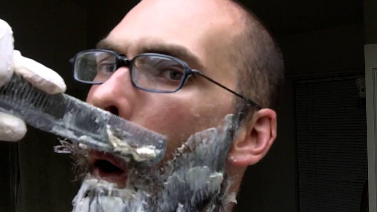 Beard Chemical Straightner Youtube