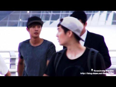 14 09 15 김현중 Kimhyunjoong 인천공항 출국 video