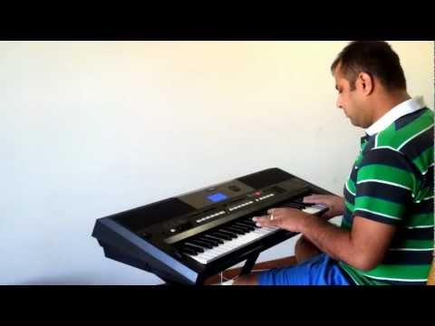Saat Samundar Paar Mein Tere - Keyboard Instrumental On Yamaha Psr-e433 video
