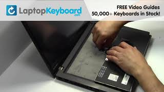 How to Replace Lenovo Thinkpad T450s Laptop Keyboard, Dismantle E440 L450 T431 T460 E450