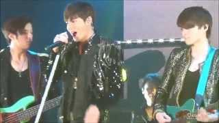[LeeMinHo, 직캠] 이민호 150103 Global tour in Seoul_Talk with Royal Pirates+Travel