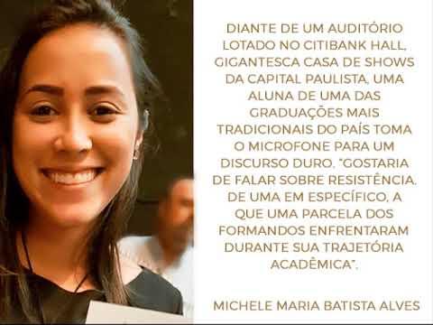 0 - Quem é a aluna bolsista cujo discurso de formatura viralizou na rede