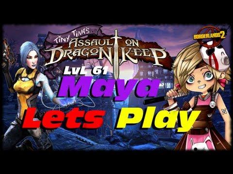 Borderlands 2 Tiny Tina's Assault On Dragon Keep DLC UVHM Lets Play! How To Start Tiny Tina DLC!!!