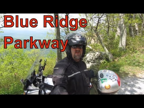 Blue Ridge Parkway motorcycle ride